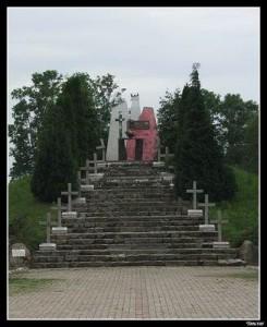 Pomnik z lat 90-tych