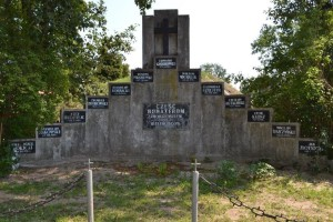Pomnik 13-tu Straconych przed remontem
