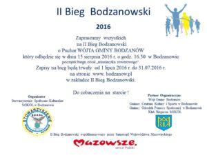II Bieg  Bodzanowski